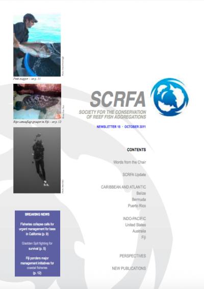 Newsletter 15 (October 2011)