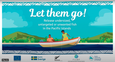 Let them go: Release undersized, untargeted or unwanted fish!